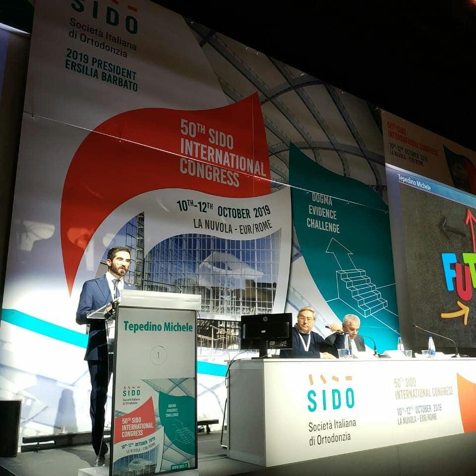 Dott Tepedino speaker SIDO